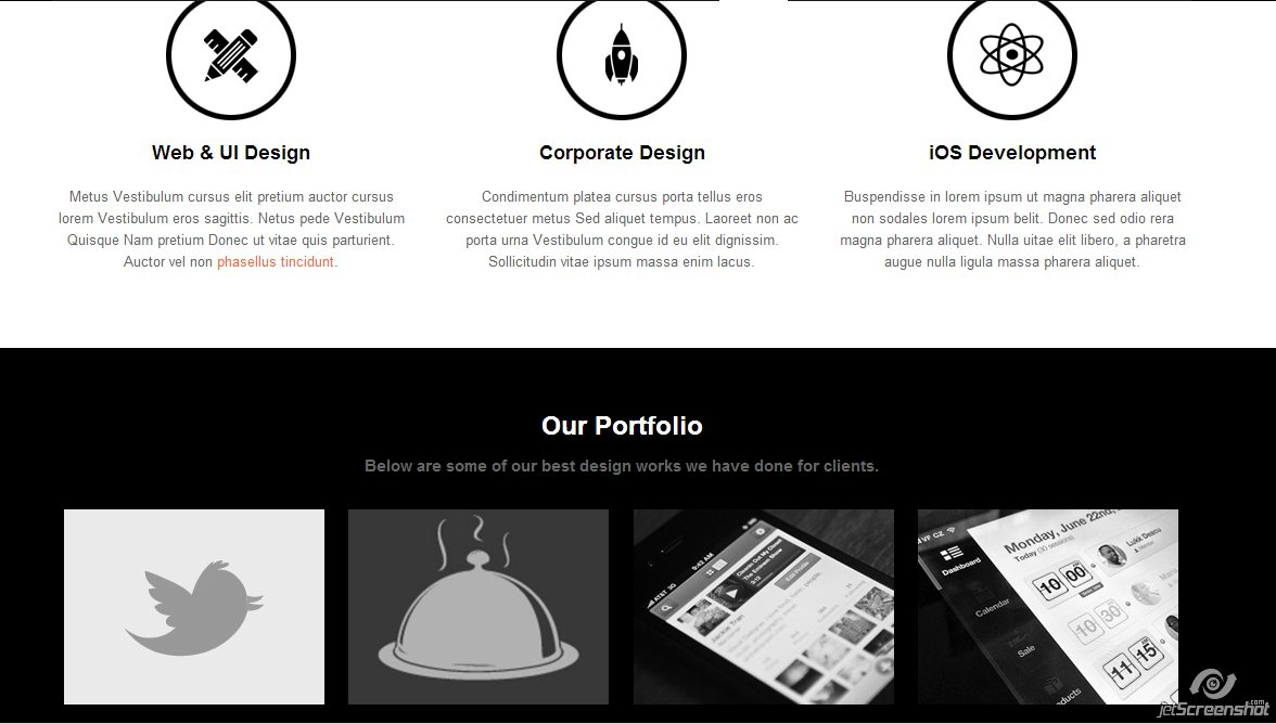 use icons graphical elements web design trends joomla websites
